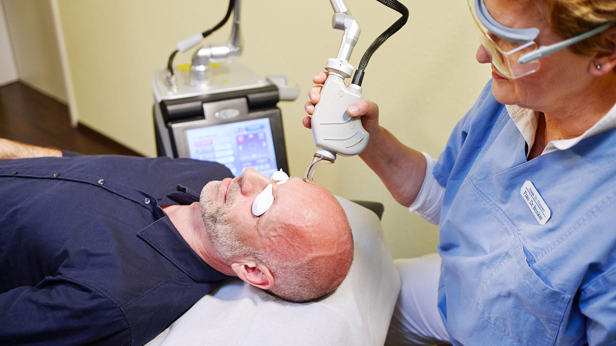 Hautverjüngung per Laser